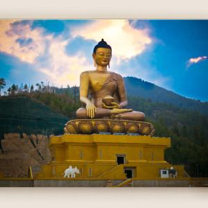 Buddha Dordenma Landscape: Bhutan