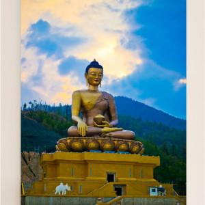 Buddha Dordenma Portrait