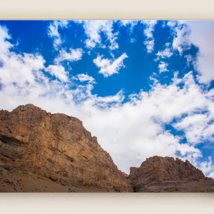 Leh Mountains & Clouds Canvas Print