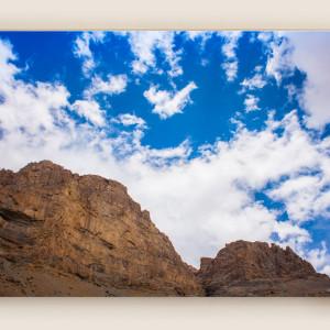 Leh Mountains & Clouds Canvas Print