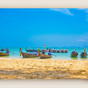 Boats on Phi Phi Island 2