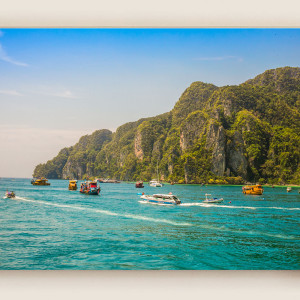Ship & Island View : Thailand