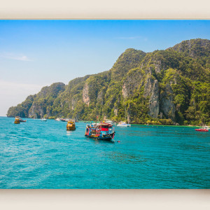 Way to Krabi Island -Thailand